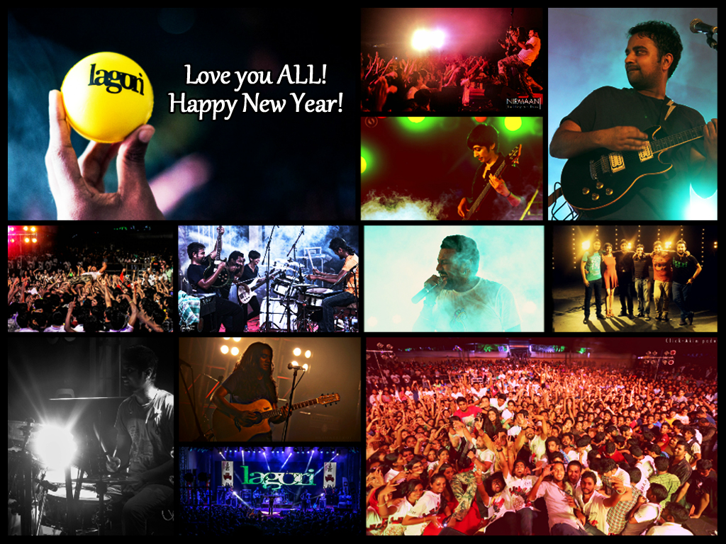 Year end collage
